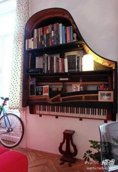 pianos are converted into a bookcase Contact Hope from Apple A Day to organize your troubles away today! Email: Hope@appleadayusa.org Phone: (845) 986-4416 Web: www.appleadayusa.org