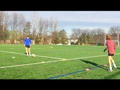 Soccer Passing Warmup | Technical Training with Kris Ward | YFutbol