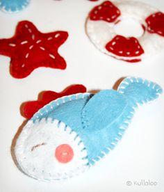 Tiere aus Filz basteln - kullaloo – Kreatives für Kinder
