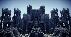 Two Cathedrals Minecraft World Save