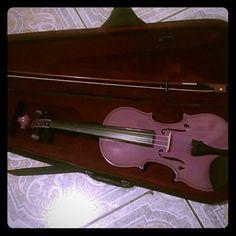Lavender violin In good shape Other