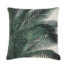 HK Living Kussen Palm Bladeren