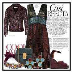 """""""Metallic"""" by babi76 ❤ liked on Polyvore featuring Rebecca Minkoff, House of Holland, Lanvin, Chloé, Maison Margiela, Chanel, Whiteley and metallic"""