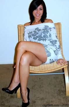Final, mature crossed legs tease think, that