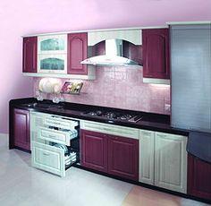 Membrane modular Kitchen from nano Kitchen and Interiors :Ph:9349101300