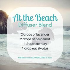 Best Summer Esssential Oil Diffuser Blends with FREE PRINTABLE-- recipes that