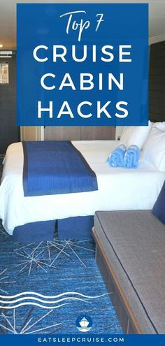 How will you survive a week in a tiny cruise cabin? We show you how with our Top 7 Space Saving Hacks for Your Cruise Cabin in Top Cruise, Best Cruise, Disney Cruise Line, Cruise Travel, Cruise Vacation, Family Cruise, Vacation Travel, Panama Cruise, Texas Travel