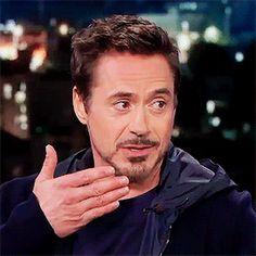 "Robert Downey Jr. on ""Jimmy Kimmel Live,"" Nov. 24, 2015."