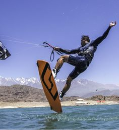 Marc Jacobs dancing on water. #kiteboarding #kitesurfing #pkra2013 #switchkites #marcjacobs Photo Credit: Tony Bromwich / PKRA