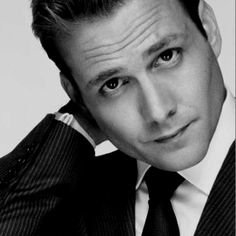 Gabriel Macht as Harvey Specter - Suits