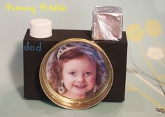 Father's Day Craft - Camera Picture Frame - Outside The Box