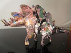 original hand painted dinosaur figure action by musk yai #Unbranded