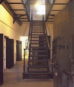 military prison in castle, Edinburgh, Scotland Behind Bars, Edinburgh Scotland, Prison, Castle, Military, Architecture, Arquitetura, Castles, Architecture Design
