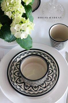 Polish pottery HOUSE of IDEAS Dessert plate