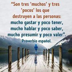 Mucho de todo y nada de nada. #spanishquotes #frasespositivas