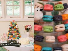 Cupcakes, Weding cake, Macarons