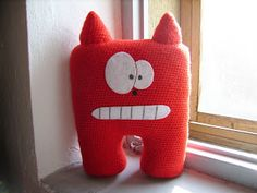 LibellulaNera: My Amigurumi Free Crochet Monsters, Amigurumi Toys, Diy Toys, Fun Learning, Dinosaur Stuffed Animal, Applique, Dolls, Sewing, Knitting