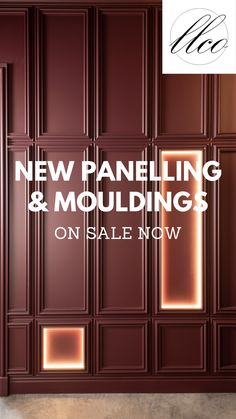 We are delighted to sell an extensive range of wall panelling, moulding, coving, ceiling roses and skirting - that all work together to create amazing interiors! This state-of-the-art lightweight design enables our interior accessories to be installed quickly and easily, pre-primed they can be painted to suit any interior, making an immediate statement. Classic additions to any space, get creative with hidden LED lighting too! Hallway Inspiration, Interior Design Inspiration, Design Ideas, Wall Panelling, Coving, Wall Molding, Home Office Decor, Home Decor, Cottage Ideas