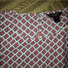J.Crew Bohemian blouse This long sleeve cutie can be a nice addition to your everyday wardrobe. Versatile and in excellent, like-new condition! Price is negotiable... J. Crew Tops Blouses
