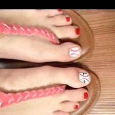 I wanted to show you how I have already lost 24 pounds from a new natural weight loss product and want others to benefit aswell. - My cute ties with my boyfriends baseball number! My cute ties with my boyfriends baseball number! Baseball Toes, Baseball Numbers, Baseball Party, Cute Toes, Mani Pedi, Toe Nails, Hair And Nails, Beauty Hacks, Nail Designs