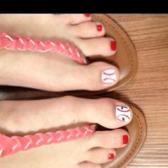Softball toes