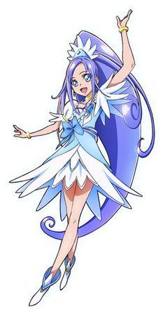 Cure Diamond official art <3
