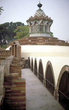 Finca Güell by Antoni Gaudi