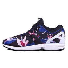 ac3a253734cc adidas Originals Torsion ZX Flux NPS Hawaiian Flower Sneaker Men s Shoes  Size 9