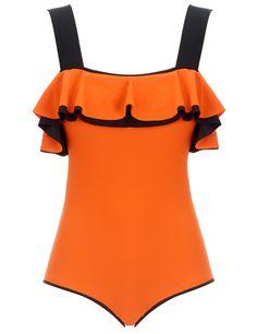 Tangerine Swimsuit- Roksanda Ilincic