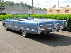 1967 Chrysler Imperial Crown Convertible....don't stick the pipes out, it ruins the lines.