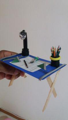 Mesa arquiteto miniatura