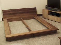 japanese bed construction - Google Search                                                                                                                                                                                 More