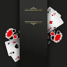 Poker party invitation black background material Casino Theme Parties, Casino Party, Invitation Cards, Party Invitations, Plastic Spoon Crafts, Party Poker, Vegas Birthday, Casino Decorations, Diy Crafts For Gifts