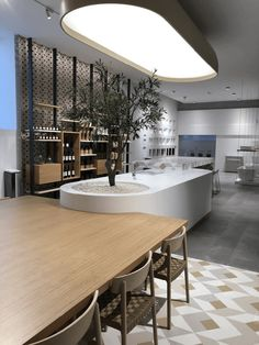 Restaurant Design Moderne, Cafe Design, Shop Interiors, Office Interiors, Interior Design Inspiration, Home Interior Design, Exibition Design, Office Table Design, Kitchen Room Design