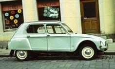 Citroën Dyane as my father had