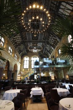 Galvin La Chapelle restaurant within a converted chapel