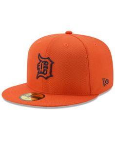0e8e6bfc989 New Era Detroit Tigers Batting Practice Diamond Era 59FIFTY Cap - Orange 7. Spring  TrainingDetroit ...