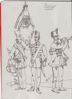 huszárok 88 - Klára Balassáné - Picasa Webalbumok Military Art, Military History, Techno, Coloring Pages, Culture, Fantasy, Preschool, War, Treats