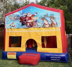 We offer free delivery within a radius of Cooroy & provide quality jumping castles to Gympie Council and Sunshine Coast Council residents. Obstacle Course, Basketball Hoop, Sunshine Coast, Sun Protection, Castles, Book, Happy, Christmas, Xmas