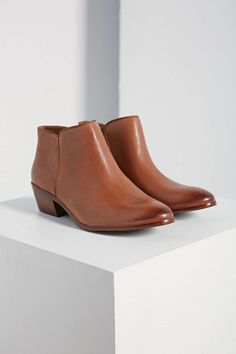 3df32920ad52 Sam Edelman Petty Leather Ankle Boot Fall Booties