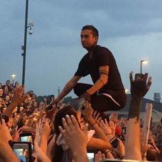 Experience the twenty one pilots Blurryface concert first hand! See what it feels like to be right behind the barricade here.
