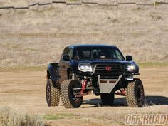 2008 Toyota Tacoma - Diabolical Toy - Prerunner - Off-Road Magazine - Today Pin 2008 Toyota Tacoma, Toyota Tacoma Prerunner, Toyota 4x4, Toyota Trucks, Toyota Hilux, Ford Trucks, Tacoma Truck, Jeep Truck, Trophy Truck