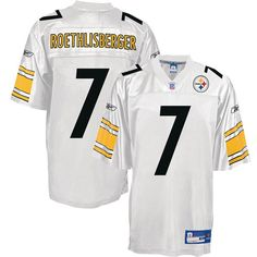 c3bc77c7690 White Ben Roethlisberger NFL Pittsburgh Steelers #7 Jersey Pittsburgh  Steelers Jerseys, Ben Roethlisberger,