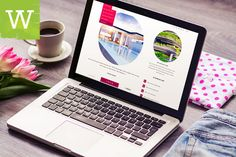 Clean And Minimal Feminine Colorful WordPress Blog by wordica