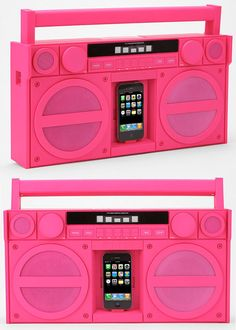 iPod player that keeps the 80s alive. Maybe this in another room so I can keep the green one somewhere else