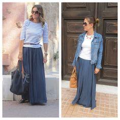 Indigo day maxi skirts outfits