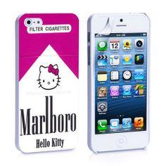 Marlboro Hello Kitty iPhone 4, 4S, 5, 5C, 5S Samsung Galaxy S2, S3, S4 – iCasesStore