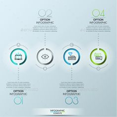Modern Infographic Circles Template PSD, Vector EPS, AI Illustrator