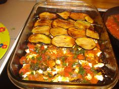 Greek Cooking, Easy Cooking, Cooking Recipes, Healthy Recipes, Greek Recipes, Vegetable Recipes, The Kitchen Food Network, Eggplant Recipes, No Cook Meals