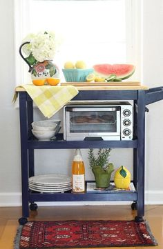 Kitchen Cart Styling: